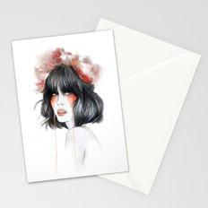 Flower Crown // Fashion Illustration Stationery Cards