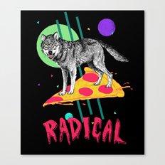 So Radical Canvas Print