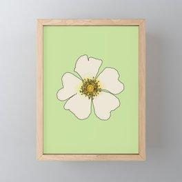 Fresh Spring Flowers Framed Mini Art Print