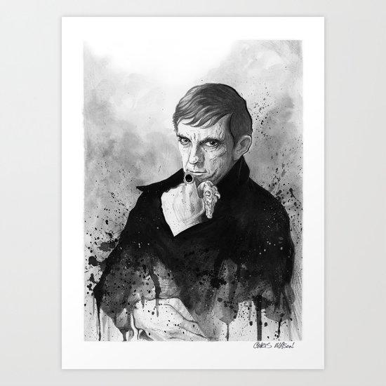 Barnabas Collins DARK SHADOWS Art Print