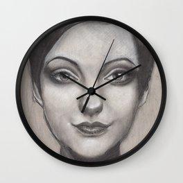 """Art Series """"Philosopher Kings I"""" SIF & HER HAIR II Wall Clock"""