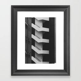 Emergency Escape Framed Art Print