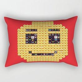 In my head Rectangular Pillow