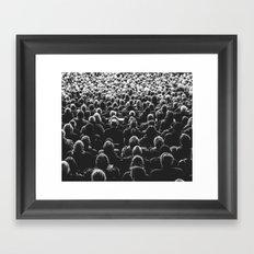 Going Public #society6 #photography #decor Framed Art Print
