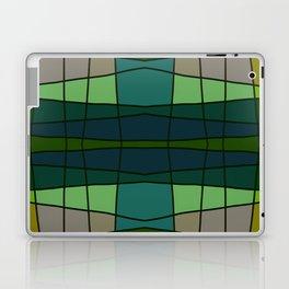 Green Pattern Turtle Laptop & iPad Skin