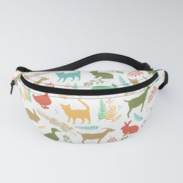 Forest and Animals Fanny Pack