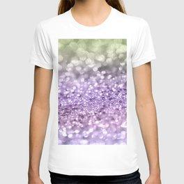 Purple Lavender Glitter #1 #shiny #decor #art #society6 T-shirt