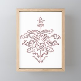 Batik Framed Mini Art Print