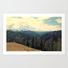 Colorado. Art Print