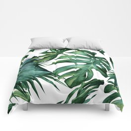 Simply Island Palm Leaves Comforters