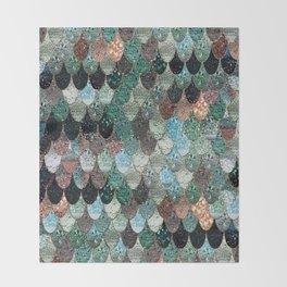 SUMMER MERMAID SEAWEED MIX by Monika Strigel Throw Blanket