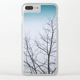 Branches of Winter Clear iPhone Case