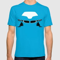BMW i8 Mens Fitted Tee Teal LARGE