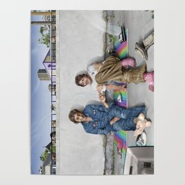 John and Paul get away from it all Poster