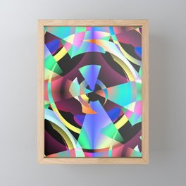 Maladjustments In The Time Continuum Framed Mini Art Print