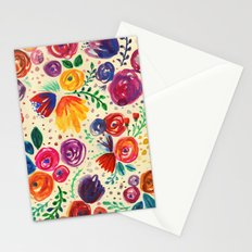 Summer Fruits Floral Stationery Cards