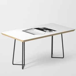 Reading is Dreaming with Your Eyes Open Coffee Table
