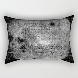 1st Image of the Far Side of the Moon Rectangular Pillow