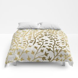 Gold Ivy Comforters