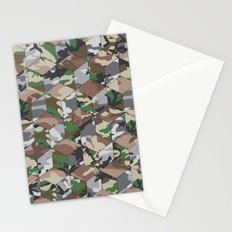 CUBOUFLAGE MULTI Stationery Cards