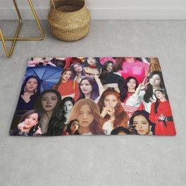 Jisoo BLACKPINK collage Rug