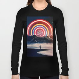 Behind The Mountain Long Sleeve T-shirt