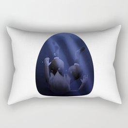Cry Rectangular Pillow