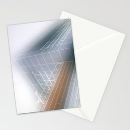Minimalist architect drawing Stationery Cards