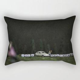 Not Today Ted Rectangular Pillow