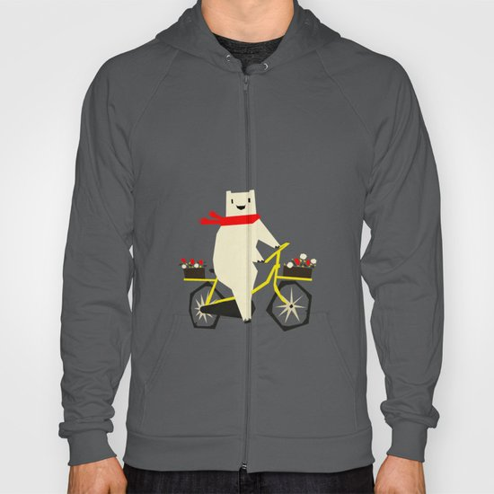 Yeti Taking a Ride Hoody