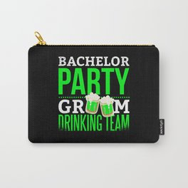 Bachelor Party Drinking Team Groom Carry-All Pouch