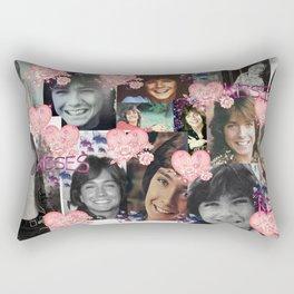 David Cassidy - Butterfly Kisses N Hearts Rectangular Pillow