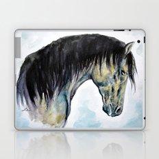 Horse in blue Laptop & iPad Skin