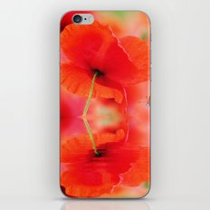 Summer Dream of Poppies iPhone & iPod Skin