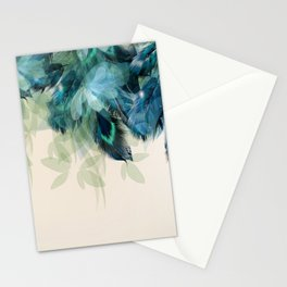 Beautiful Peacock Feathers Stationery Cards