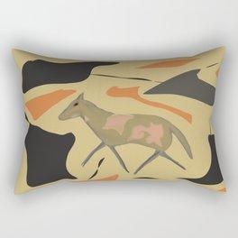Trotting Pony Rectangular Pillow