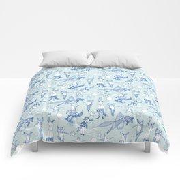 foxy circus Comforters