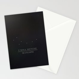 Ursa Minor and the Persistance of Stars Stationery Cards