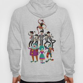 clowns and mimes Hoody