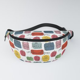 Colorful Budapest city Fanny Pack