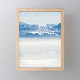 Swiss Alps Framed Mini Art Print