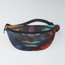 Lord Buddha Abstract Art Fanny Pack