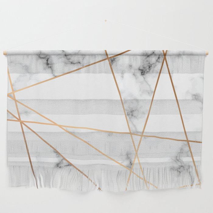 Marble Geometry 054 Wall Hanging