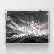 FIRE INSIDE ME Laptop & iPad Skin
