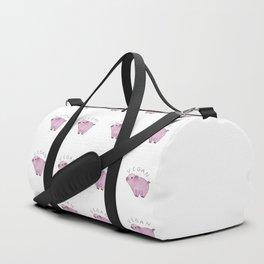 Vegan Pig Duffle Bag