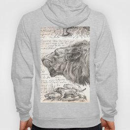 Lion(s) Sketch from Life Hoody