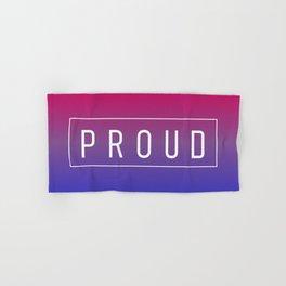 Bisexual Flag v2 - Pride Hand & Bath Towel