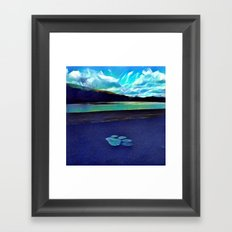 The Paw Print Framed Art Print