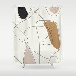 Thin Flow II Shower Curtain