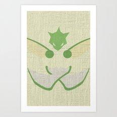 Scyther Art Print